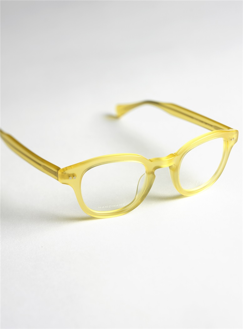 Bold Semi-Square Frame in Yellow