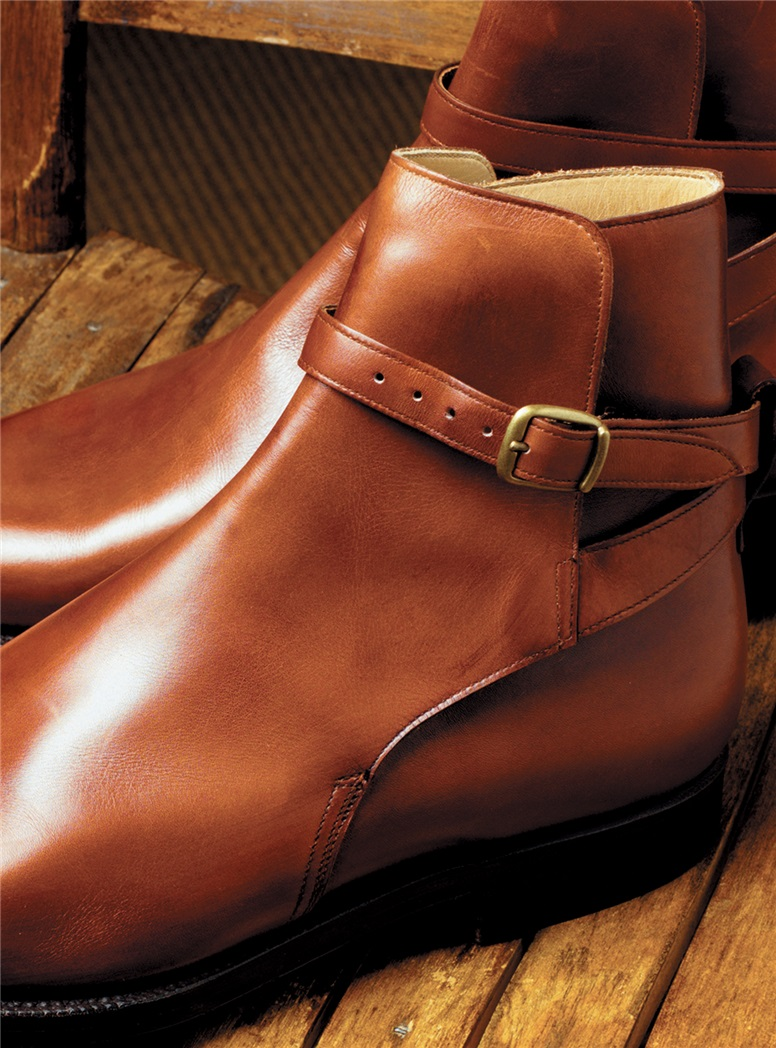 The Quorn Jodhpur Boot in Chestnut, Size 8