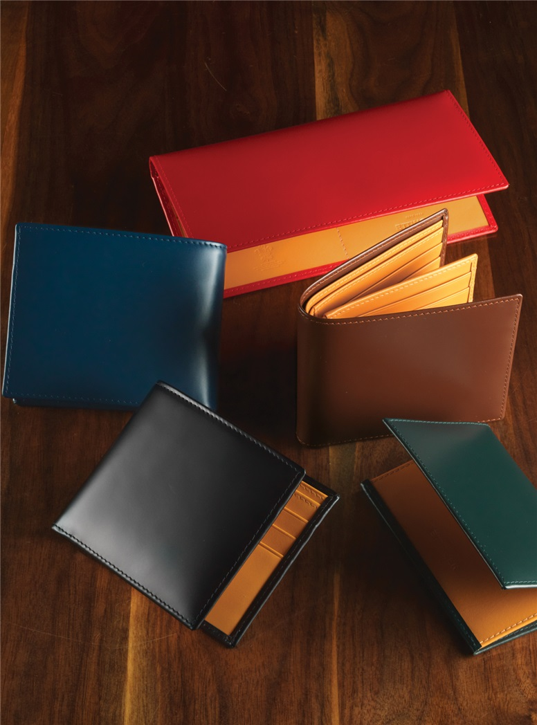 Bridle Leather Visiting Card Cases