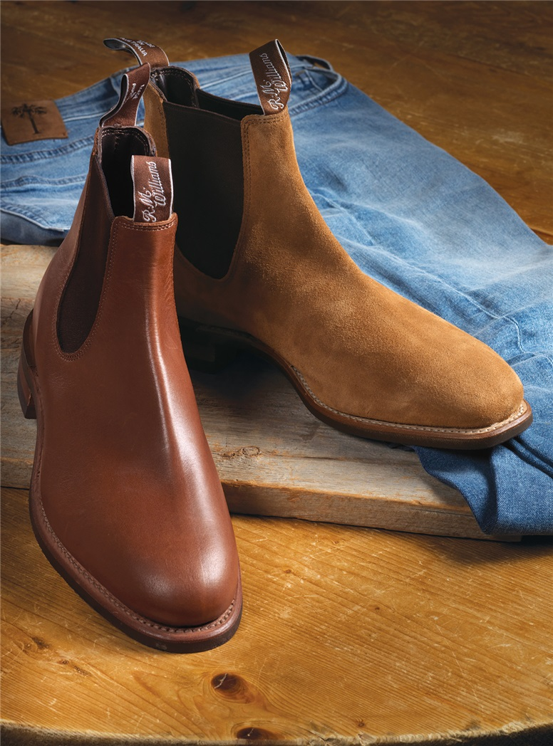 R.M Williams Boots in Caramel Leather
