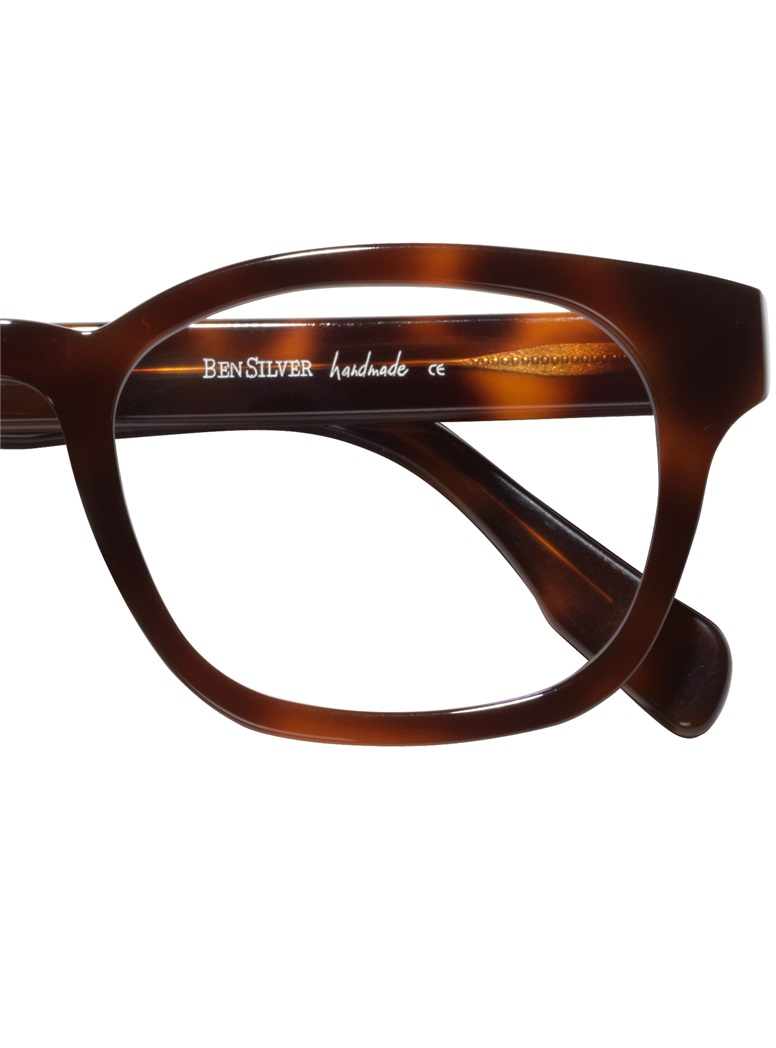 Bold Semi-Square Frame in Coffee