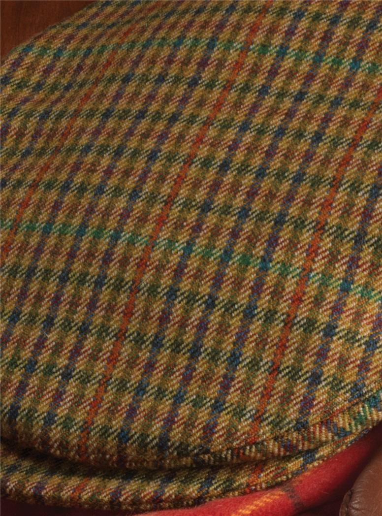 Wool Helmsley District Check Cap