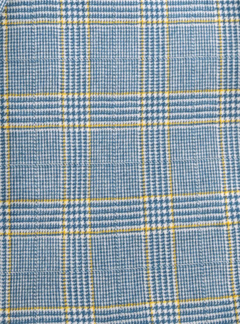 Regal Blue Glen Plaid Cashmere Sport Coat
