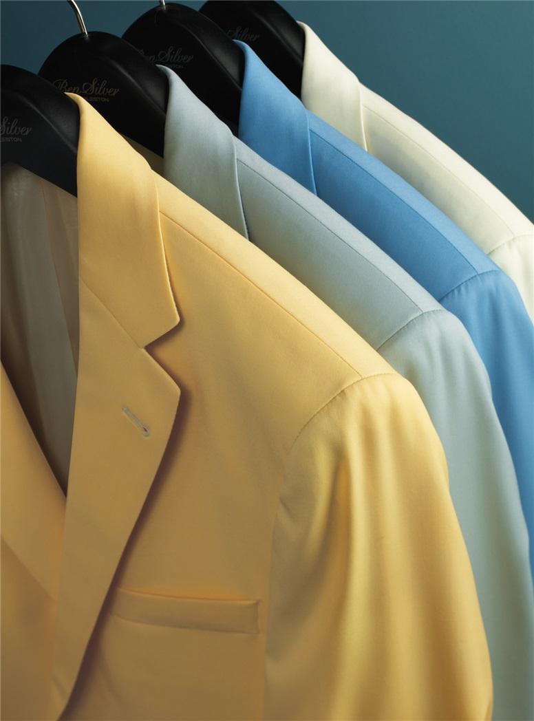 Golden Yellow Tropical Wool Sport Coat