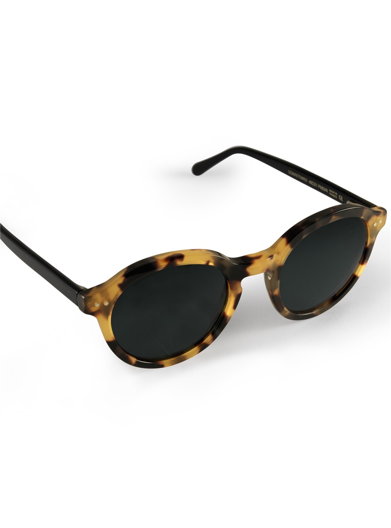 Bold Classic Sunglasses in Tortoise with Black Temples