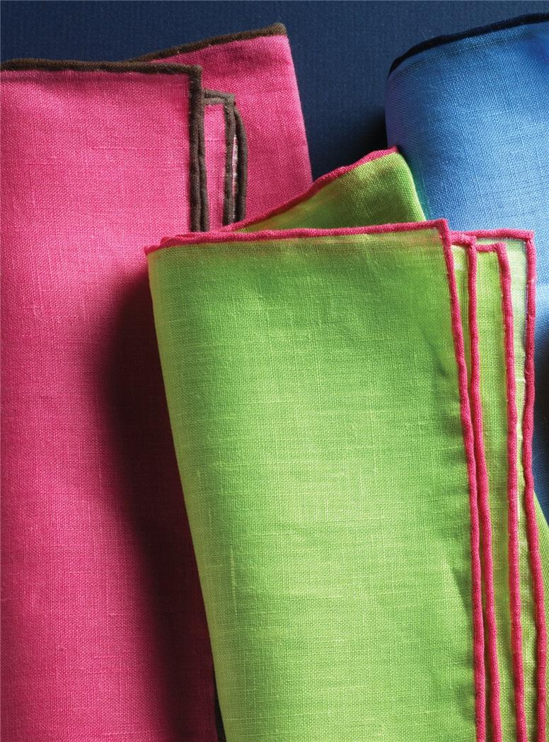 Solid Linen Pocket Square
