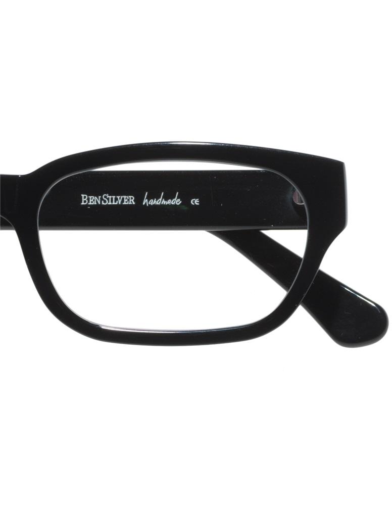 Bold Rectangular Frame in Black