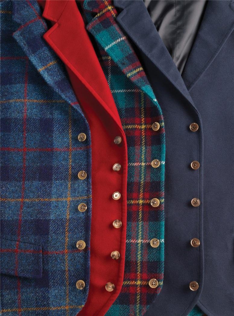 Red Flannel Waistcoat