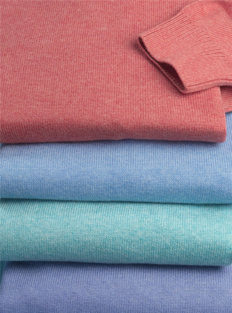 Cotton V-neck Sweaters