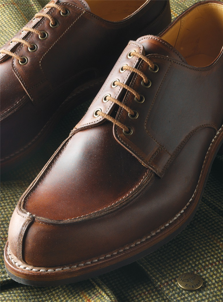 The Wexford Blucher in Dark Brown