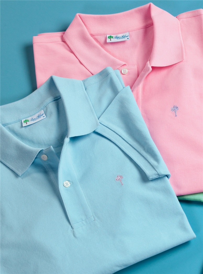 Ben Silver Palmetto Polo Shirts