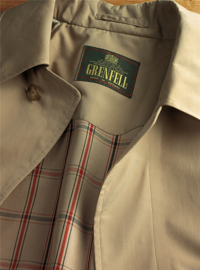 Lightweight English Raincoat