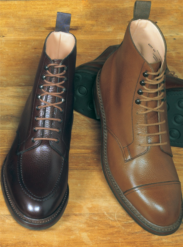 The Galway Boot in Dark Brown Country Calf