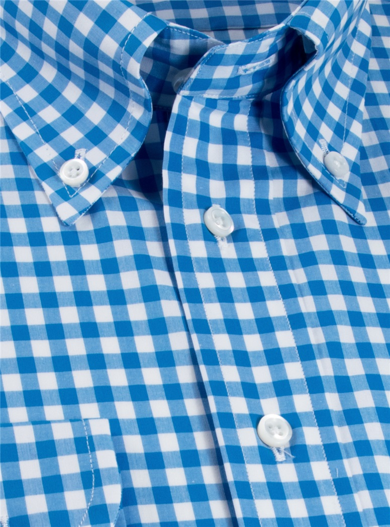 Blue Gingham Shirt