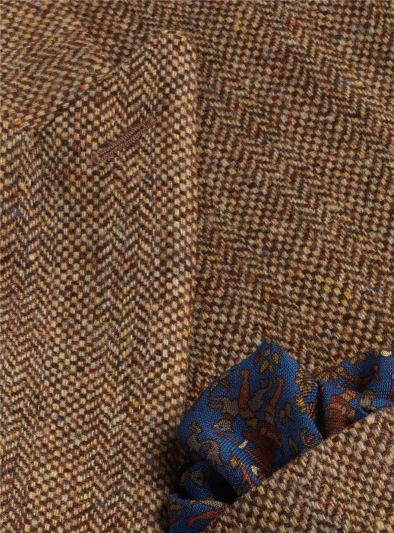 Jacket Wool Brown Birdsfoot