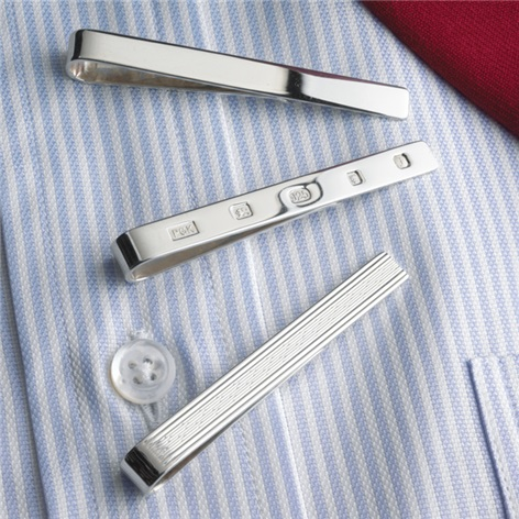 Sterling Silver Tie Bars