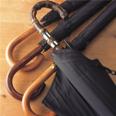 Fox Classic Slim Black Umbrellas