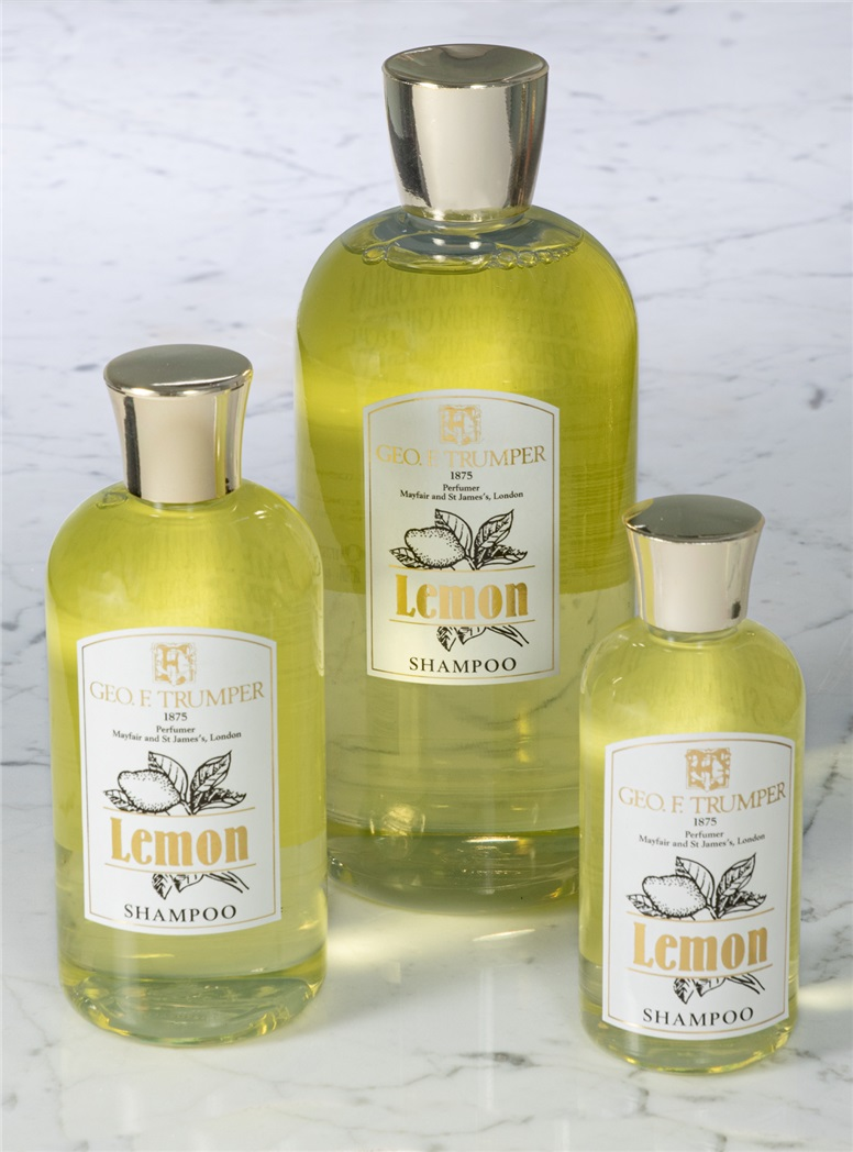 Trumper Lemon Oil Shampoos