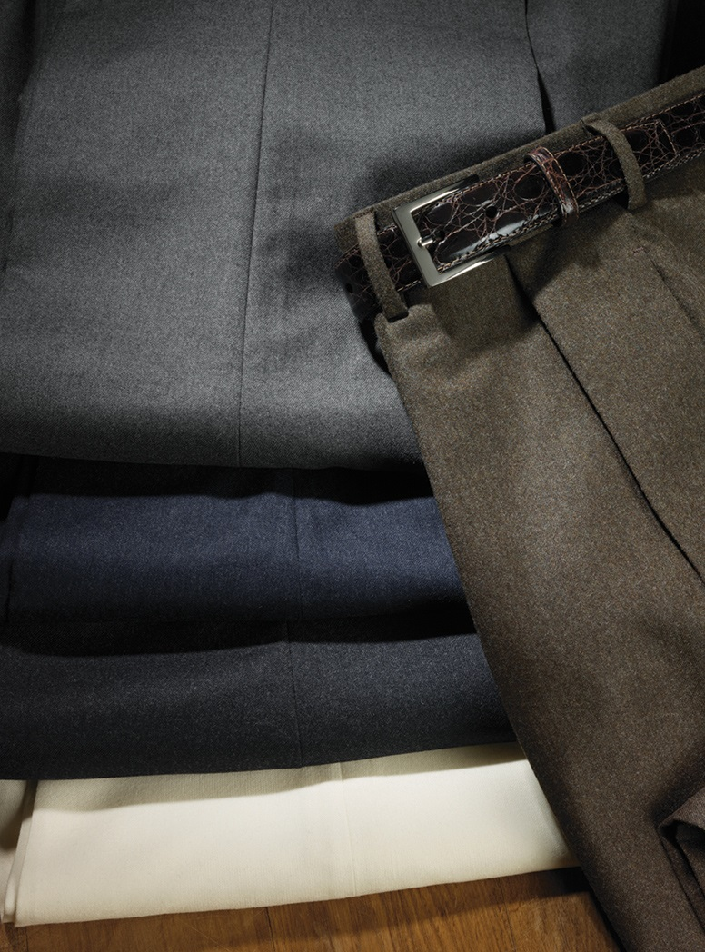 Italian Flannel Trousers