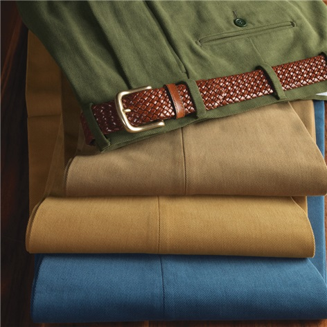 Steep Twill Cotton Trousers
