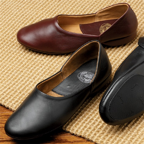 The Henry Calf Skin Slippers with Non-Slip Soles