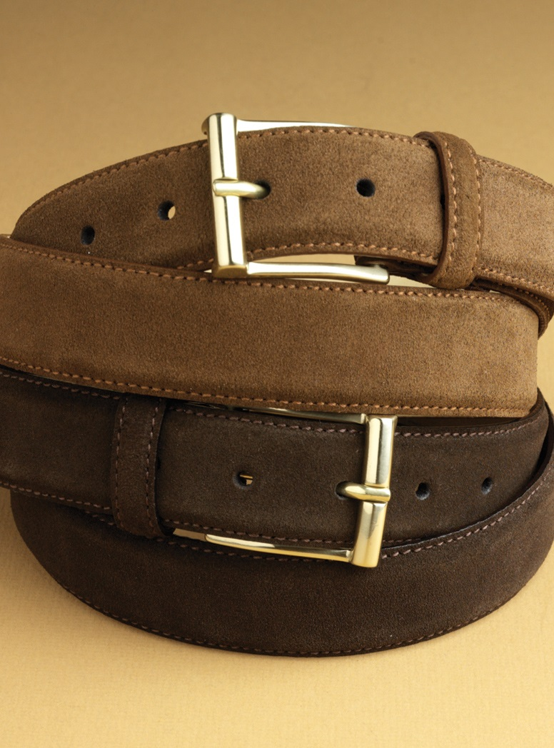 Suede Belts