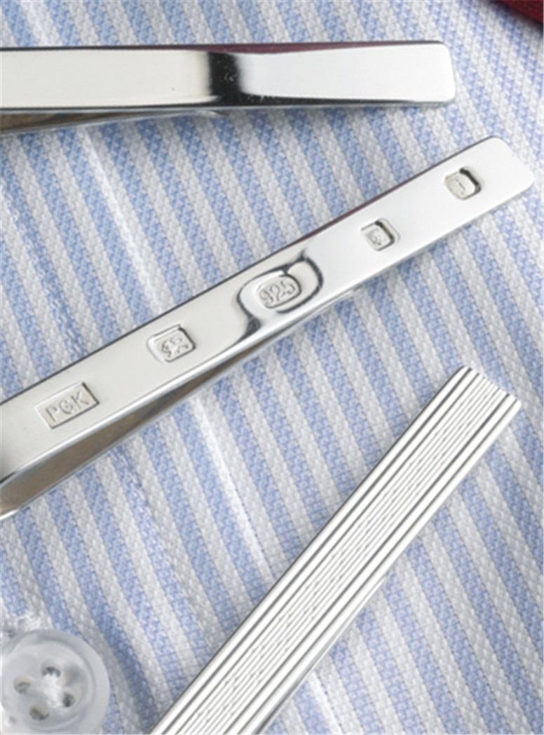 Sterling Silver Tie Bars