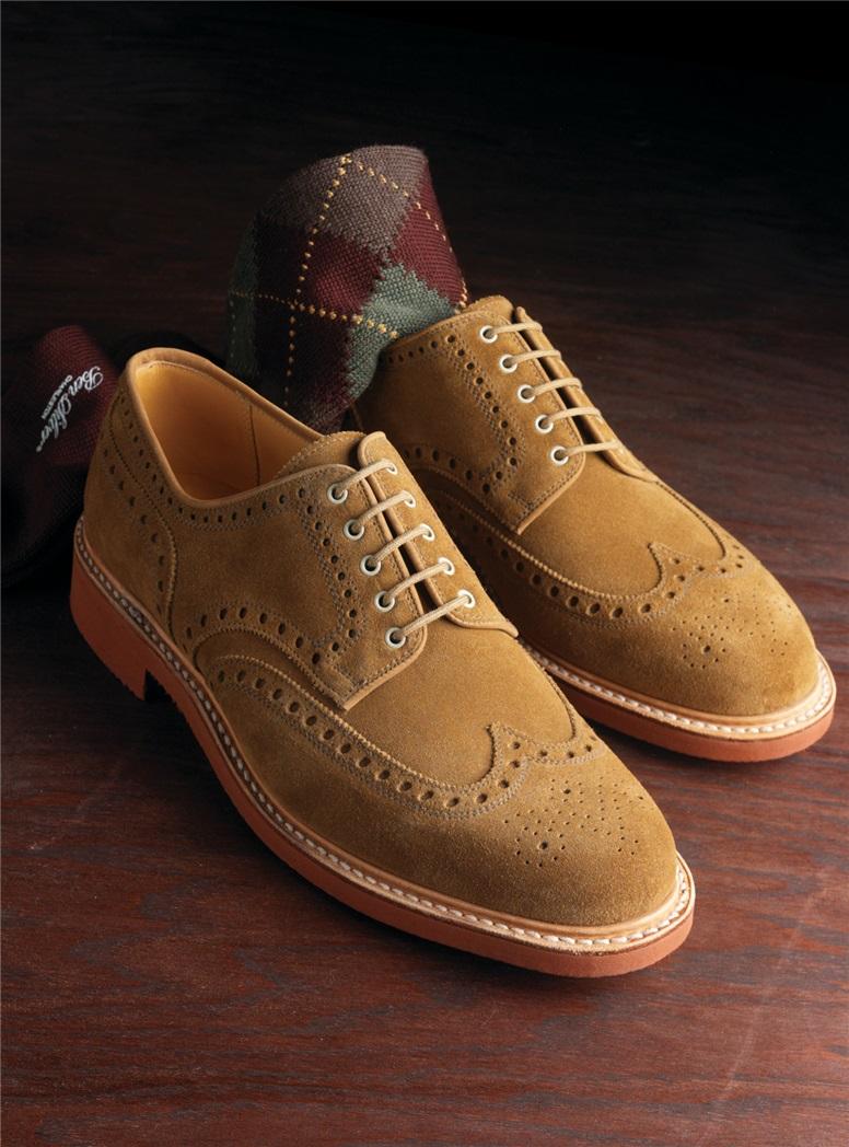 Argyle Socks in Wool