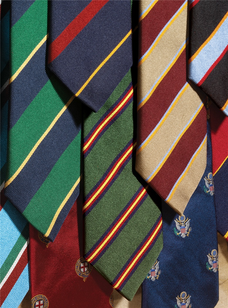 O34- Old Felsted Golf Tie