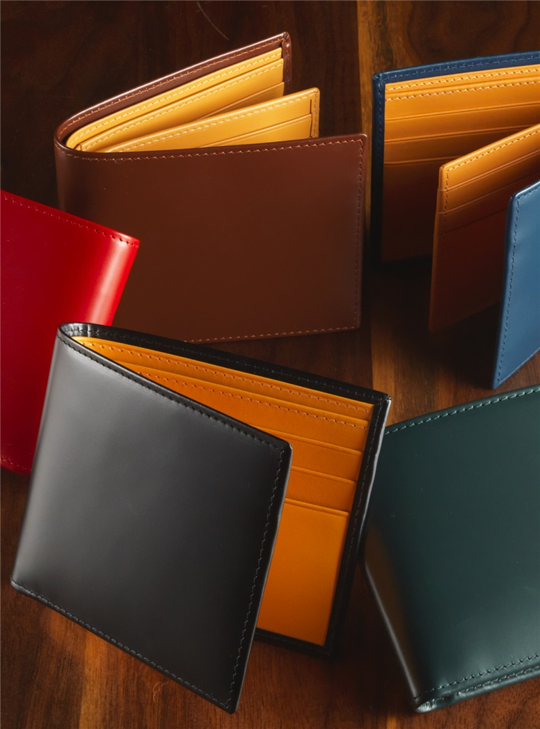 Bridle Leather Billfolds
