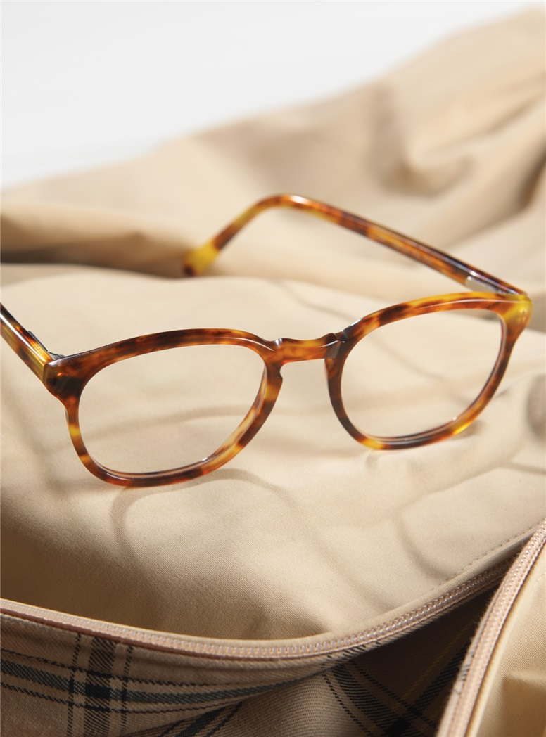 Retro Square Frame in Paris Tortoise