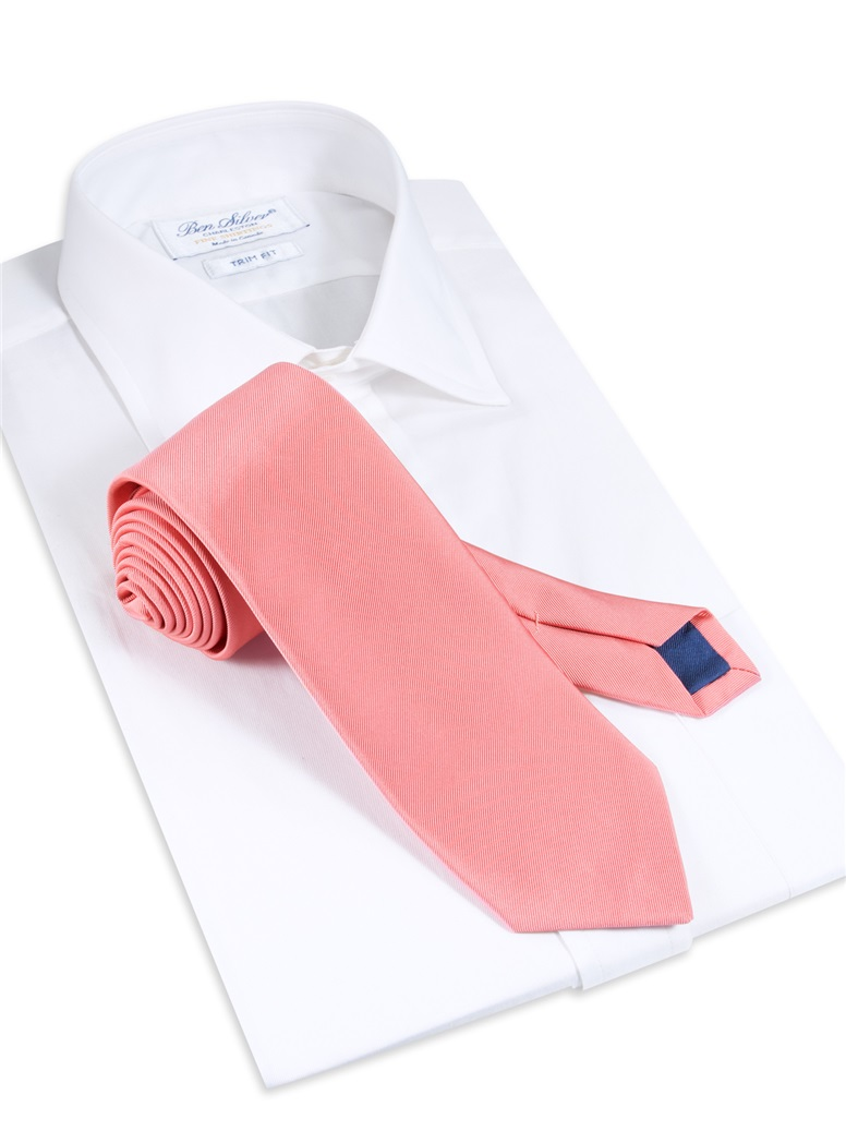 Mogador Solid Tie in Blush