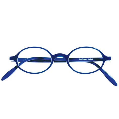 Oval Frame in Royal
