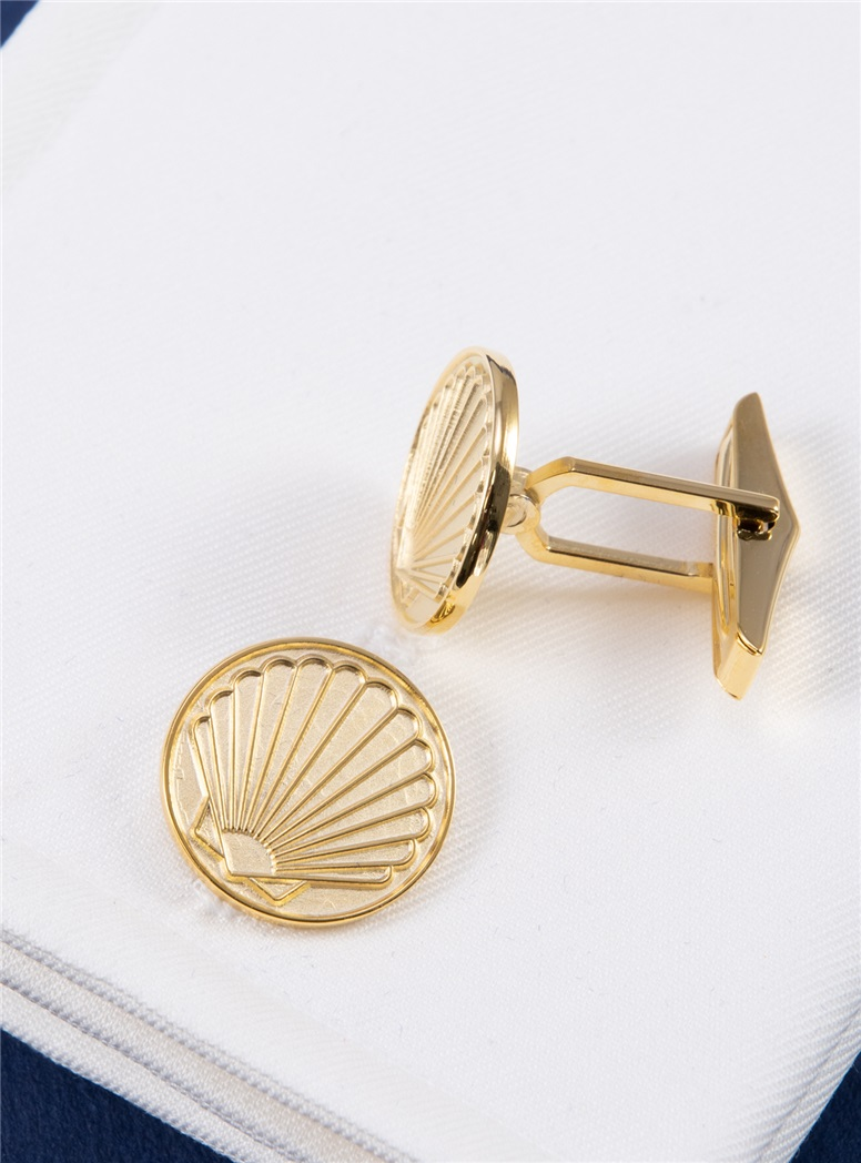 Scallop Cufflinks