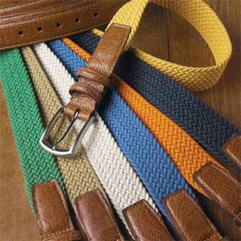 Braided Cotton Belts
