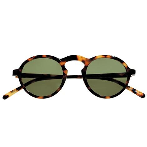Small Round Sunglasses in Tortoise