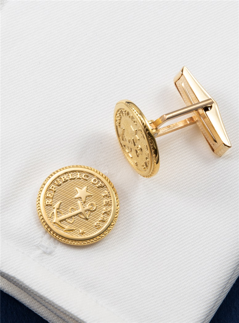 Texas Navy Cufflinks