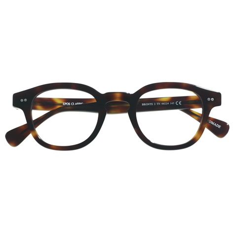 Bold Semi-Square Frame in Mocha