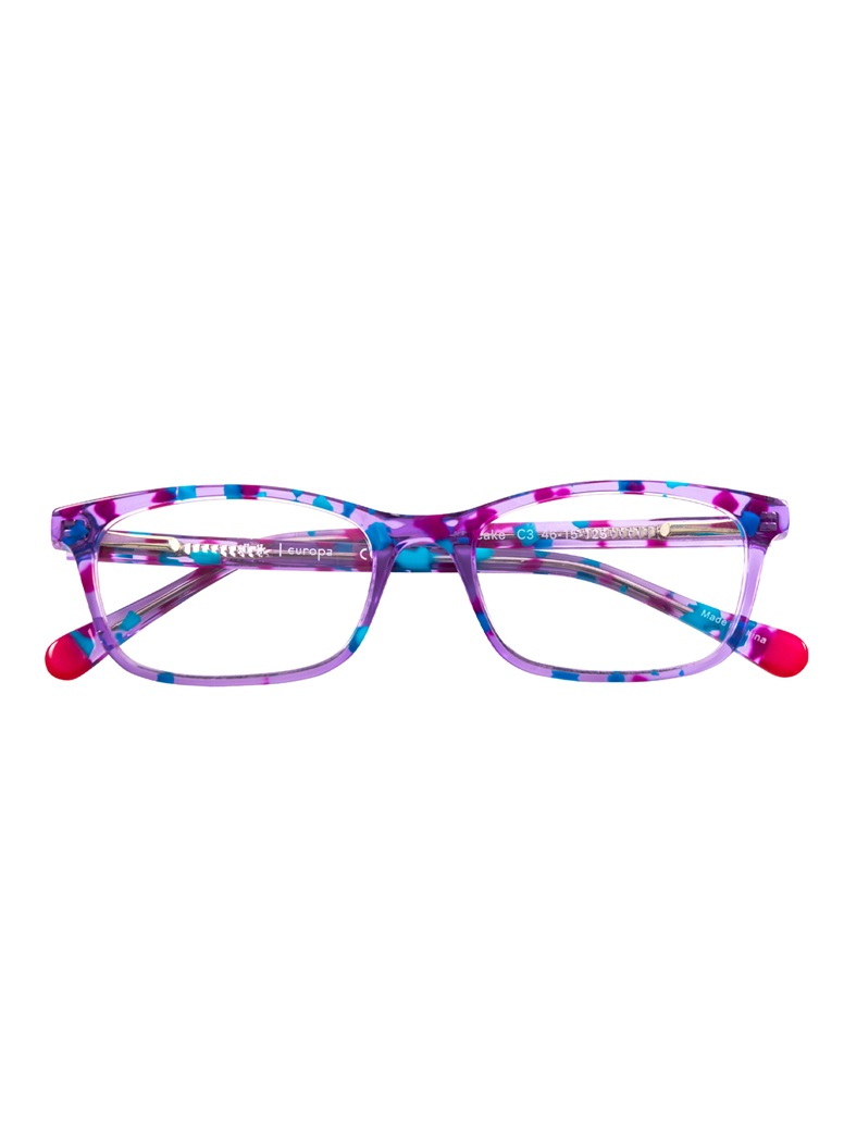 Slim Rectangular Children's Frame in Violet