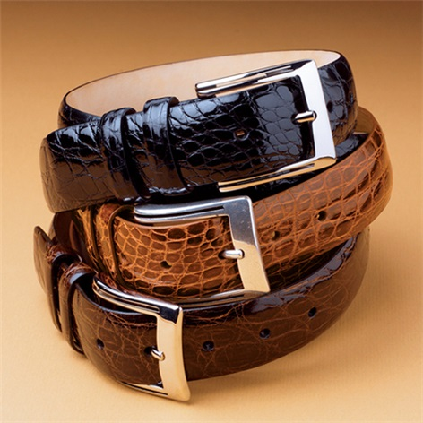 Caiman Crocodile Belts