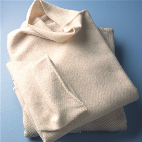 Ladies Cashmere Turtleneck in Linen