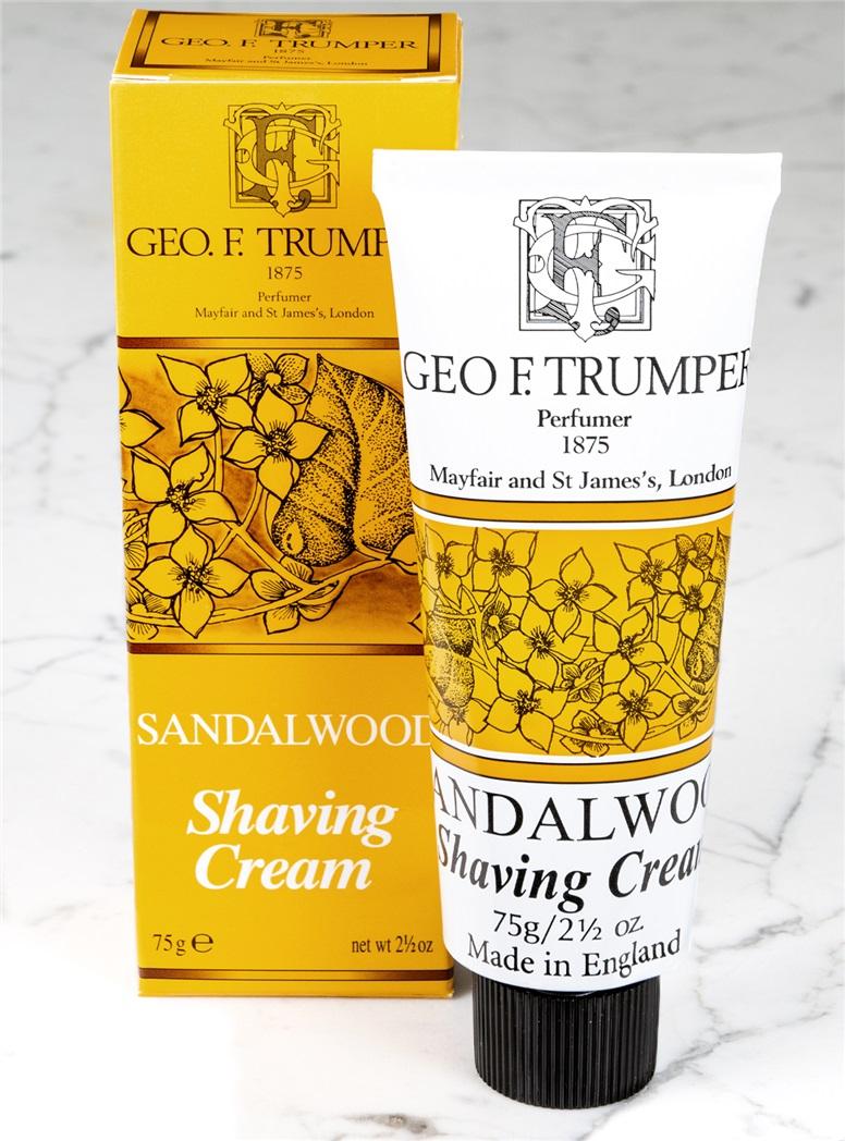 Sandalwood Tube Shaving Cream
