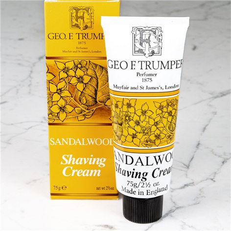 Sandalwood Tube Shaving Cream