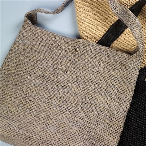 Ladies Crochet Hobo Bag
