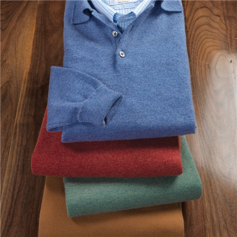 Cashmere Polo Sweaters