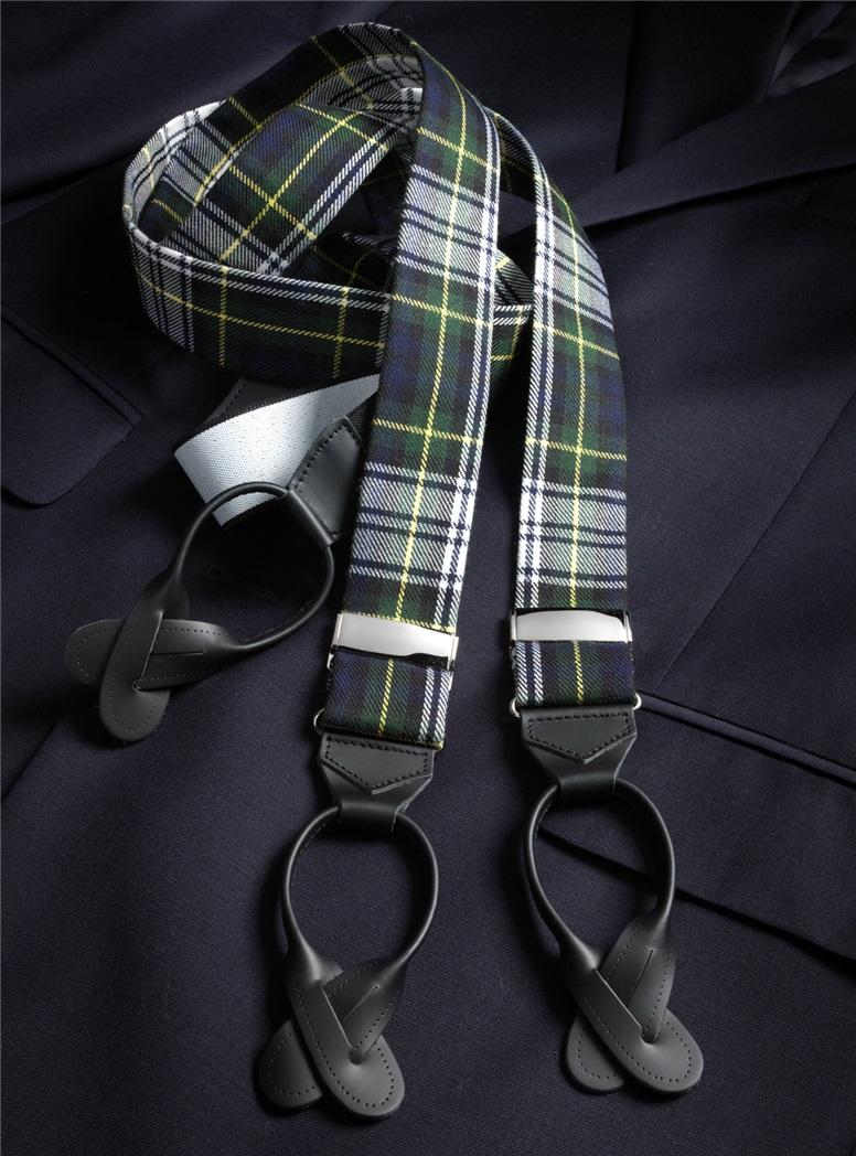 Wool Gordon Tartan Braces