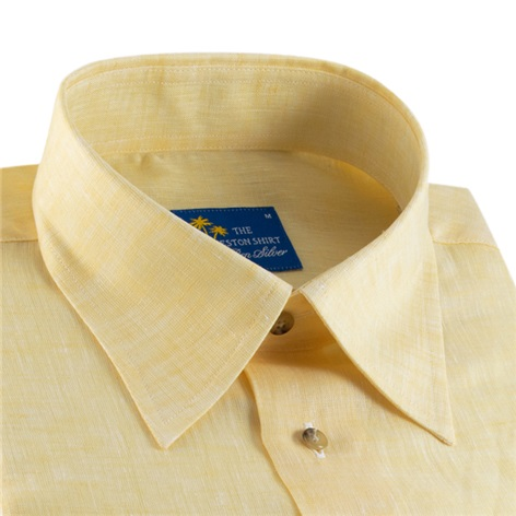 Yellow Charleston Linen Shirt