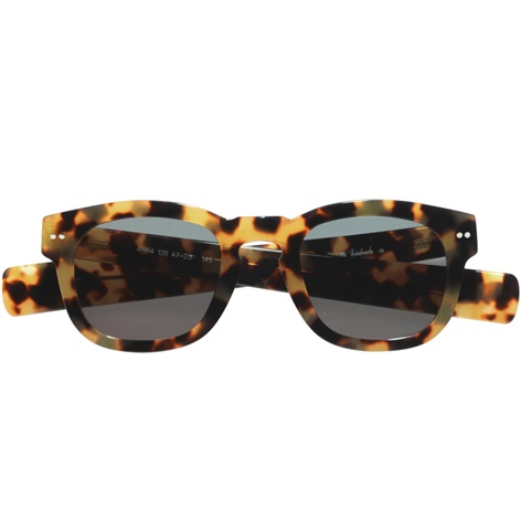 Bold Semi-Square Sunglasses in Tokyo Tortoise