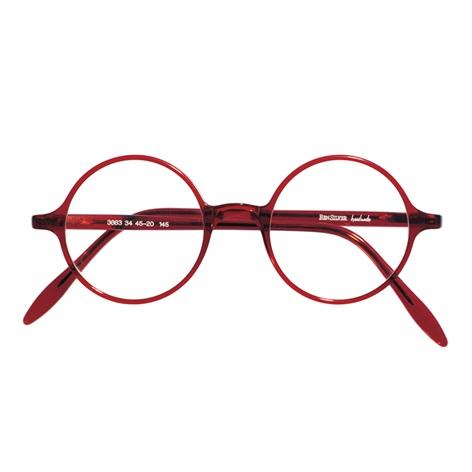 Slender Round Frame in Red