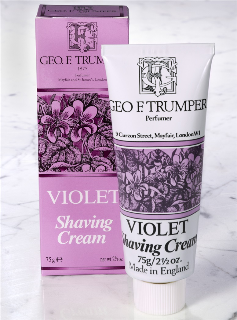 Violet Tube Shaving Cream